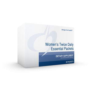 Women's Twice Daily Essential 60 packets designs for health