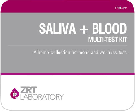 Comprehensive Male Profile II-Saliva+Blood Multi Test Kit (ZRTLab)