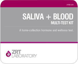Comprehensive Male Profile I - Saliva+Blood Multi Test Kit (ZRTLab)