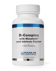 B-COMPLEX WITH METAFOLIN 60 Vegetarian Capsules Douglas Laboratories