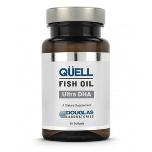QELL Fish Oil-Ultra DHA 60 SoftGels Douglas Laboratories
