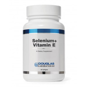 Selenium+Vit E  400 I.U. SoftGel Douglas Laboratories