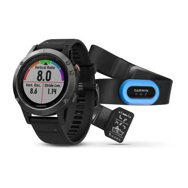 Garmin Fenix 5 GPS Multi Sport Watch (Gray Black / 47MM)