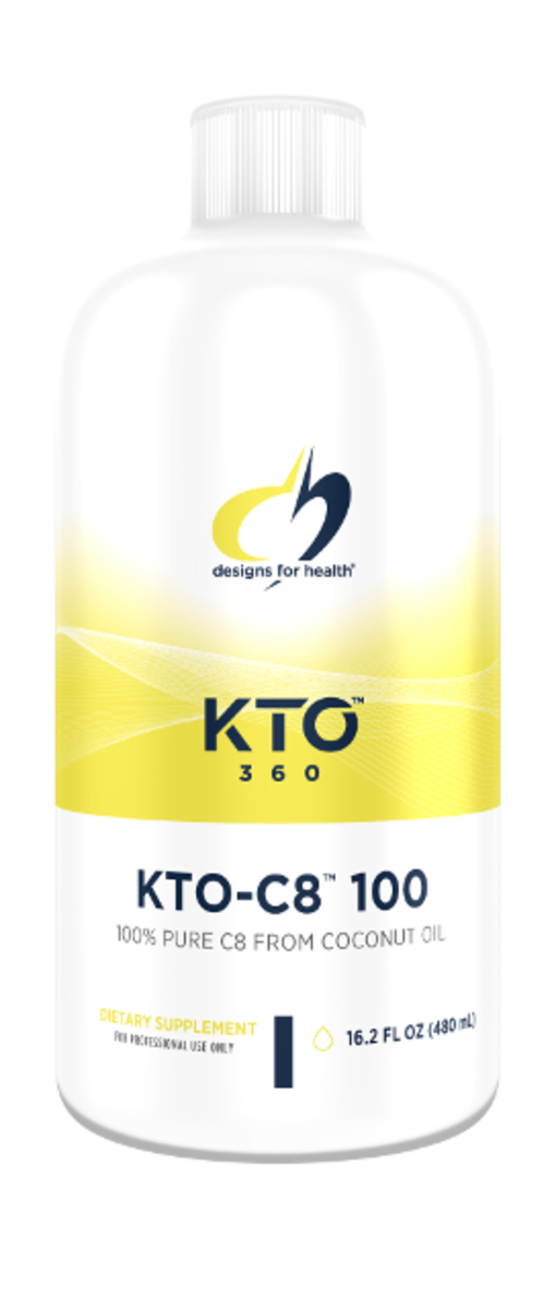 KTO-C8 100 16.2 FL OZ (480 ML)  Liquid Designs For Health