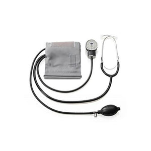 LifeSource UA101 Manual Aneroid BP Kit-Attached Stethoscope