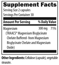Load image into Gallery viewer, Magnesium Buffered Chelate 60 Vegetarian Capsules Designs for Health