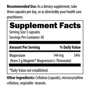 NeuroMag 90 Vegetarian Capsules Designs for Health