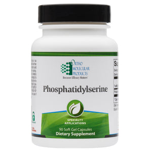 Phosphatidylserine 90 Soft Gel Capsules Ortho Molecular Products