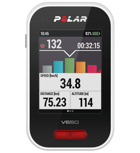 Polar V650 GPS Enabled Cycling Computer