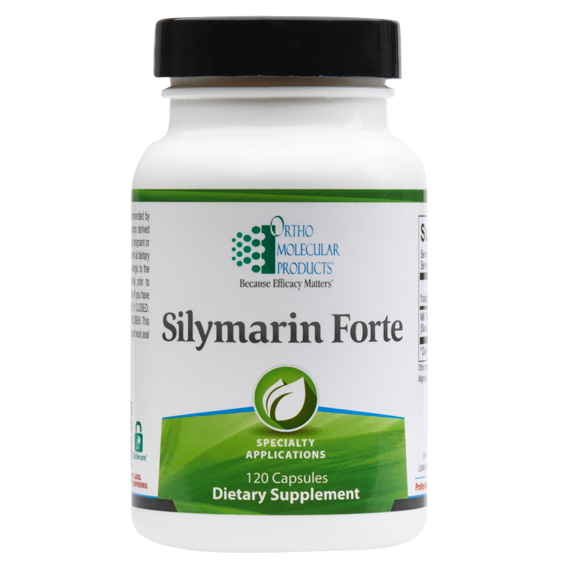 Silymarin Forte 120 Capsules Ortho Molecular Products