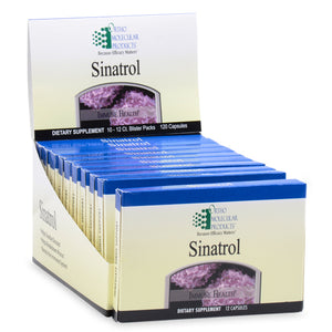 Sinatrol Blister Packs 120 Capsules Ortho Molecular Products