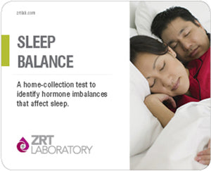Sleep Balance Profile: Melatonin (MT6s x4), Free Cortisol x4, Free Cortisone x4 - At Home Test (ZRTLab)