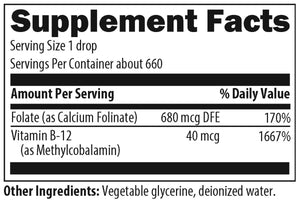 Super Liquid Folate 1 oz Designs for Health