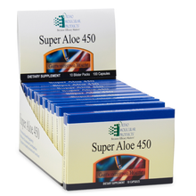 Load image into Gallery viewer, Super Aloe 450 Blister Packs 100 Capsules Ortho Molecular Products