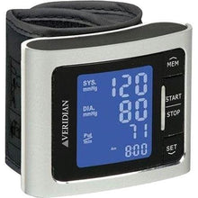Load image into Gallery viewer, Veridian Metallic Style Digital Wrist Blood Pressure Monitor