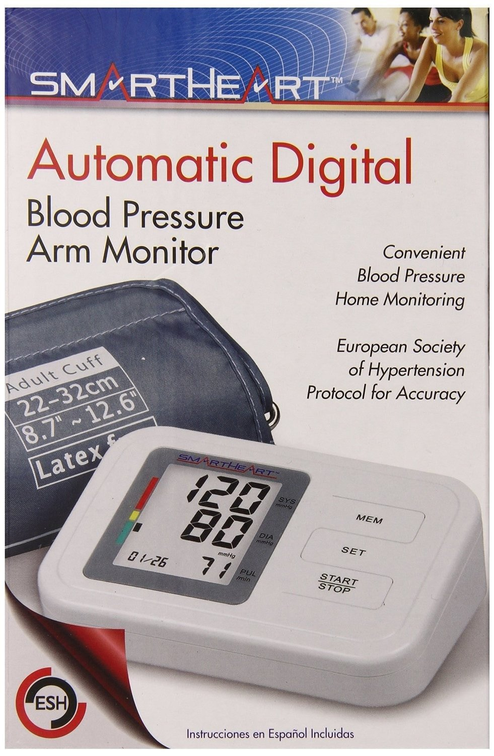 Veridian Automatic Digital Blood Pressure Monitor 01-550