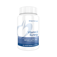Load image into Gallery viewer, Vitamin D Synergy 120 Capsules Designs for Health