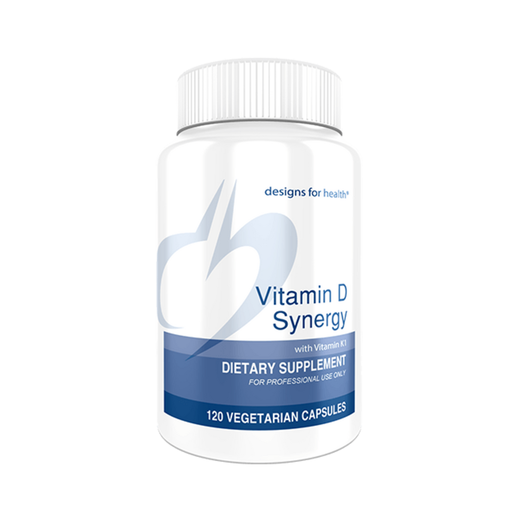 Vitamin D Synergy 120 Capsules Designs for Health