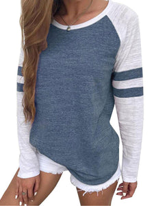 Patchwork Long Sleeve T-Shirt