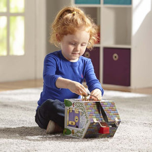 Melissa and Doug: Wooden Doorbell House