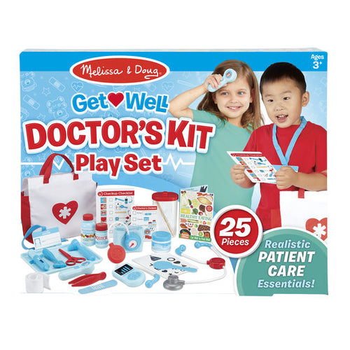Melissa and Doug: Get Well Doctor 's Kit Play Set