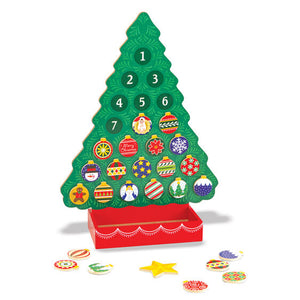 Melissa and Doug: Countdown to Christmas Wooden Advent Calendar