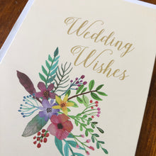 Load image into Gallery viewer, Wedding Wishes Card