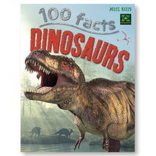 Load image into Gallery viewer, 100 Facts Dinosaurs