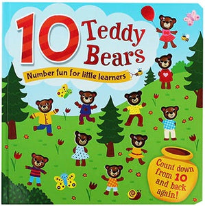 10 Teddy Bears
