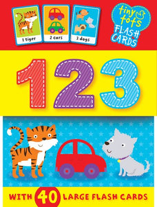 Tiny Tots Flashcards: 123