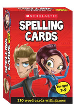 Load image into Gallery viewer, Scholastic Spelling Cards