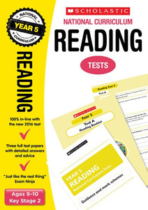 National Curriculum SATs Tests: Reading Tests (Year 5)