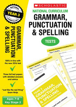 Load image into Gallery viewer, National Curriculum SATs Tests: Grammar, Punctuation and Spelling Tests (Year 3)