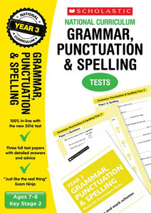 National Curriculum SATs Tests: Grammar, Punctuation and Spelling Tests (Year 3)