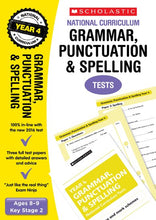 Load image into Gallery viewer, National Curriculum SATs Tests: Grammar, Punctuation and Spelling Tests (Year 4)