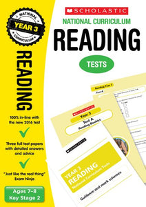 National Curriculum SATs Tests: Reading (Year 3)