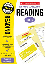 Load image into Gallery viewer, National Curriculum SATs Tests: Reading (Year 4)