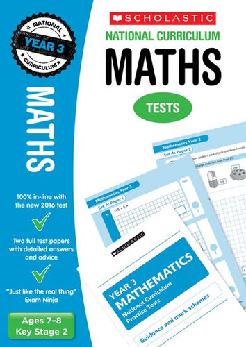 National Curriculum SATs Tests: Maths (Year 3)