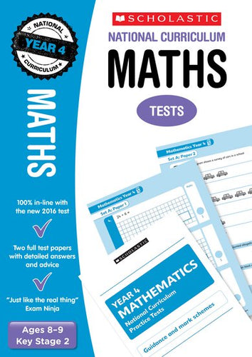 National Curriculum SATs Tests: Maths (Year 4)