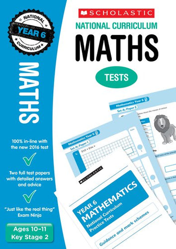 National Curriculum SATs Tests: Maths (Year 6)