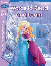 Load image into Gallery viewer, Disney Learning: Frozen Words to Read and Learn (Ages 6-7)