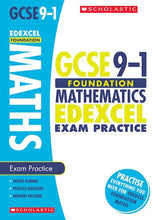 Load image into Gallery viewer, GCSE Grades 9-1: Foundation Maths Edexcel Exam Practice