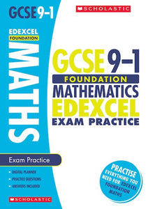 GCSE Grades 9-1: Foundation Maths Edexcel Exam Practice