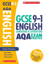 Load image into Gallery viewer, GCSE Grades 9-1: English Language and Literature AQA Exam Practice