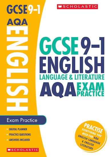 GCSE Grades 9-1: English Language and Literature AQA Exam Practice