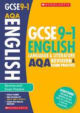Load image into Gallery viewer, GCSE Grades 9-1: English Language and Literature AQA Revision and Exam Practice