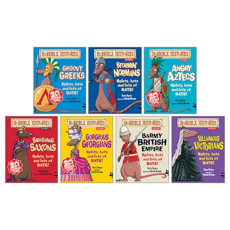 Horrible Histories Box Set (7 Books)