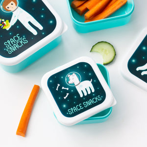Sass & Belle - Space Explorer Lunch Boxes (Set of Three)