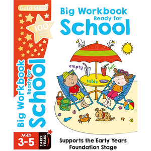 Gold Stars: Big Workbook Ready for School Ages 3-5