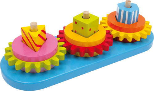 Legler: Deluxe Wooden Shape Sorting Gears Motor Activity